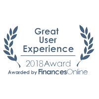 Finance Online Award for Great User Experience 2018