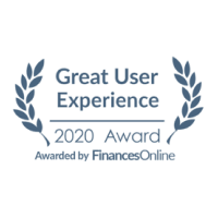 Finance Online Award for Great User Experience 2020