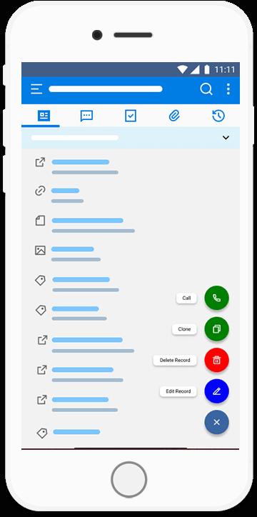 Orgzit Mobile Add Task