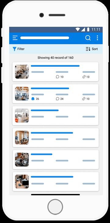 Orgzit Mobile Utilize Your Data