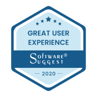 Software Suggest Award for Great User Experience 2020